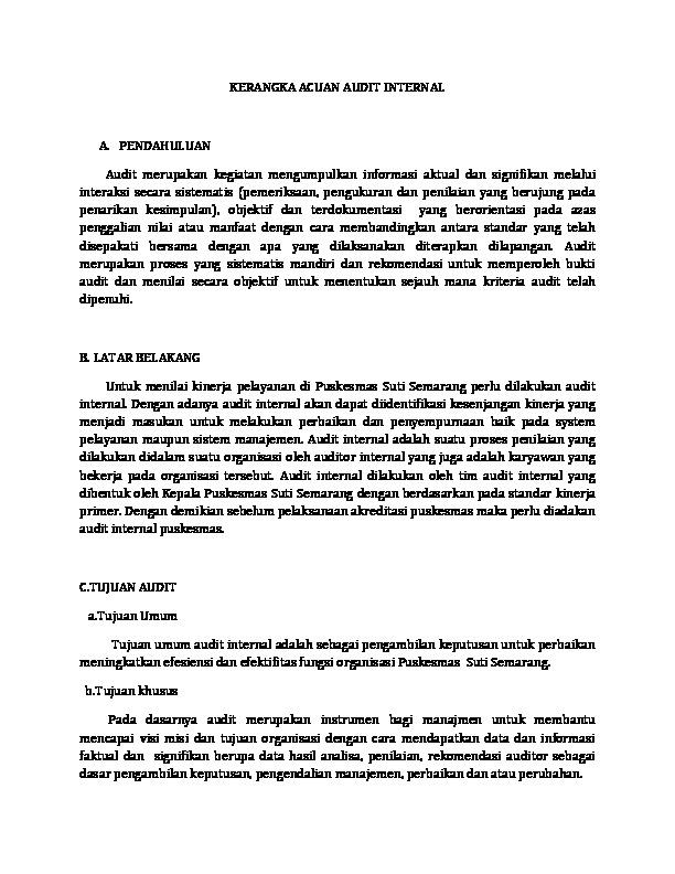 Kerangka Acuan Audit Internal Docx 0ox99vqjlro6